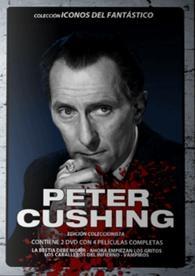 Peter Cushing es una leyenda del cine fantástico inglés. Su solo presencia otorgaba prestigio a las más diversas producciones. Este pack reúne cuatro fabulosas de aquella época dorada en las que vampiros y hombres lobo eran enemigos habituales del genial actor.