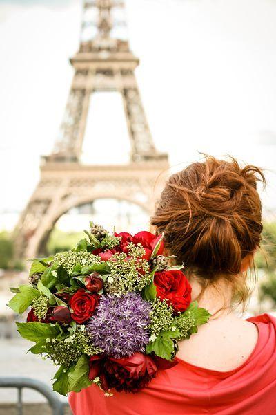 Oameni si flori – Lucian, Paris   Interesart