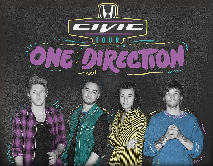 "Honda Civic Tour presents One Direction ""On The Road Again Tour 2015"" - http://orsvp.com/event/honda-civic-tour-presents-one-direction-on-the-road-again-tour-2015-metlife-stadium-080515/"