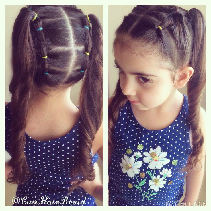 Ponytails! Hairstyle for girls! / peinados para niñas !