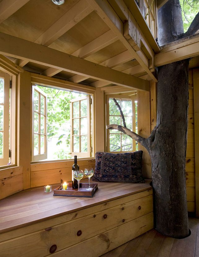 Fine Tree House Inside Ideas With Decorating
