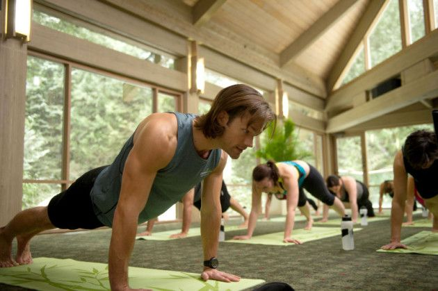 Jared Padalecki yoga