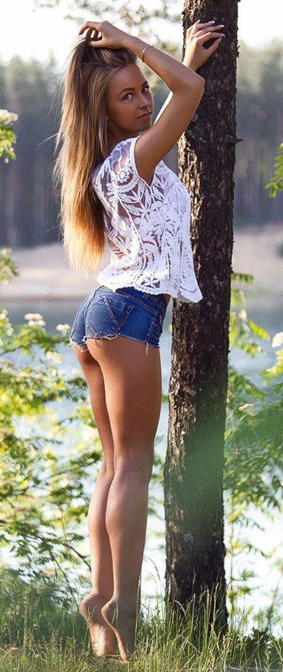 Great legs | Short shorts and long legs!!