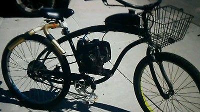 Grubee SkyHawk Motorized  Bicycle  4Stroke gas Moped Scooter Mountain bike