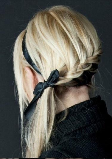 :D: French Braids, Hairstyles, Ribbons, Long Hair, Beautiful, Longhair, Bows, Hair Style, Side Braids