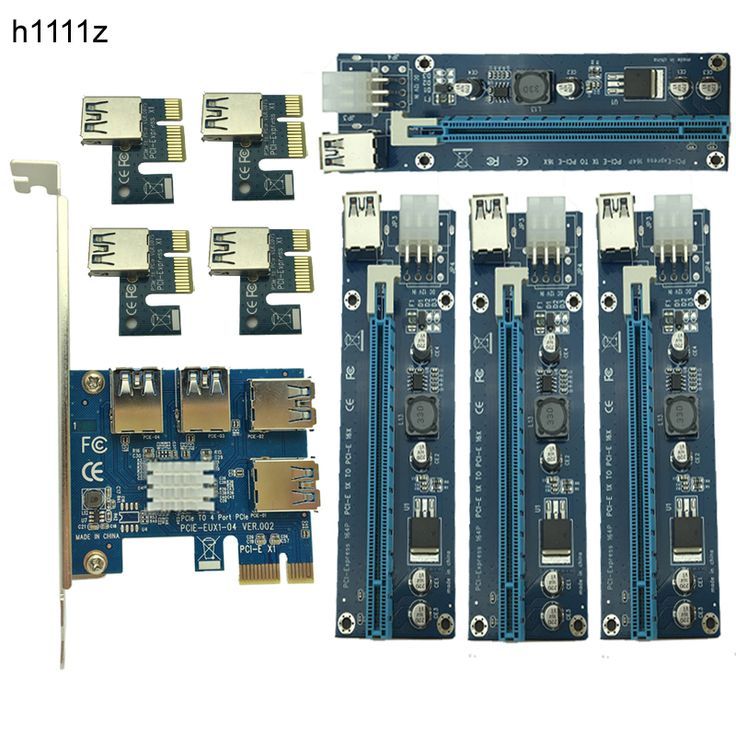 NEW Mining Card PCIe 1 To 4 PCI Express 16X Slots Riser Card PCI-E 1X To 16x External PCI-e Slot Adapter Port Multiplier For BTC -  Buy online NEW Mining Card PCIe 1 to 4 PCI Express 16X Slots Riser Card PCI-E 1X to 16x External PCI-e Slot Adapter Port Multiplier for BTC only US $45.49 US $37.30. Here we will provide the best deals of finest and low cost which integrated super save shipping for NEW Mining Card PCIe 1 to 4 PCI Express 16X Slots Riser Card PCI-E 1X to 16x External PCI-e Slot…