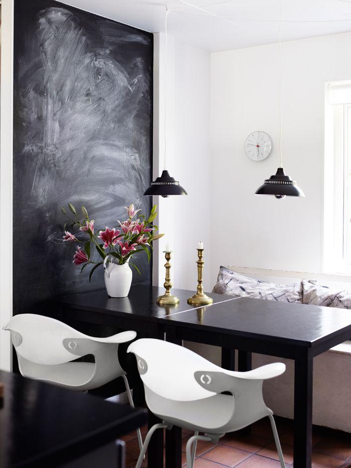 matplats-svart-tavla-inspiration-foto-anna-kern | ELLE Decoration