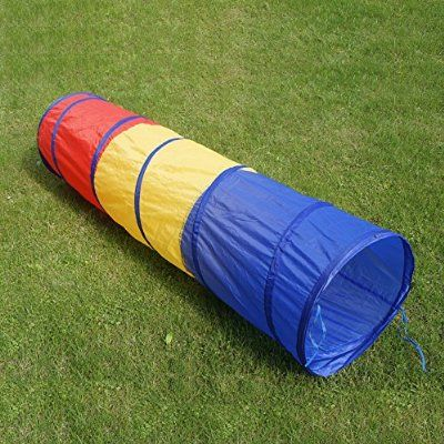 6 foot Kids Play Tunnel Pop Up Playhouse Birthday Gift for Children