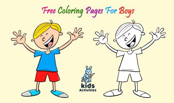 Coloring Pages For Boys Coloring Pages For Boys Free Printable Coloring Pages Cool Coloring Pages