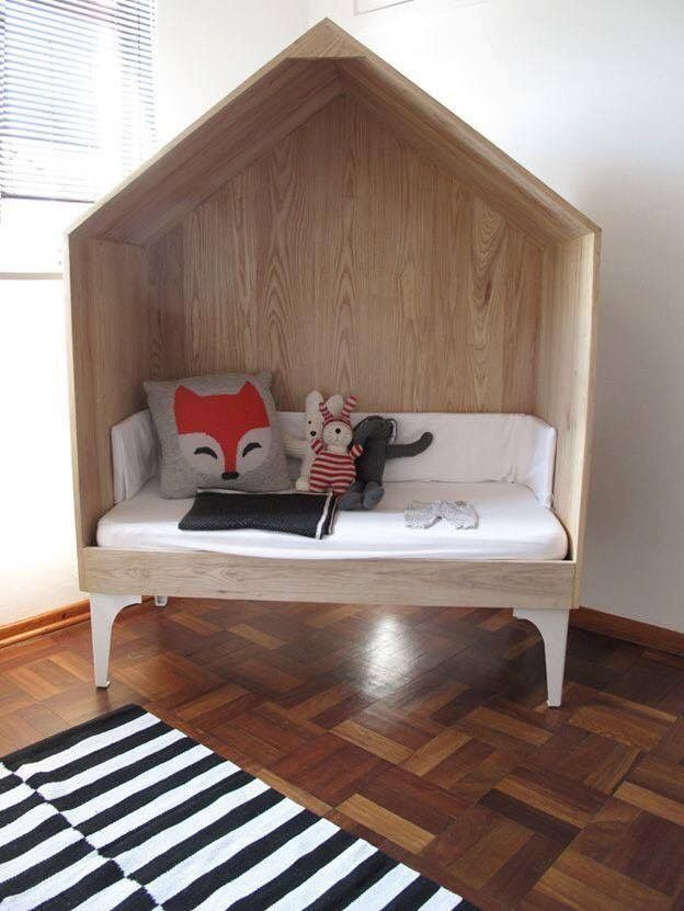 Mommo Design: HOUSE BEDS (this Would Make An Adorable Reading Nook)