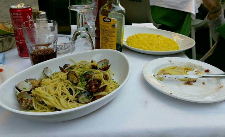 spaghetti alle vongole a Milano