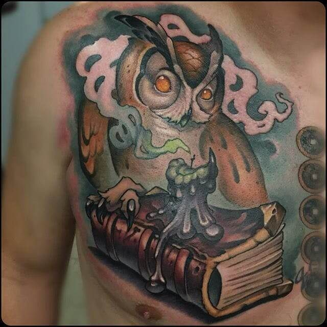 12 Best New School Owl Tattoo Designs Petpress In 2020 Owl Tattoo Design Tattoo Designs Tattoos