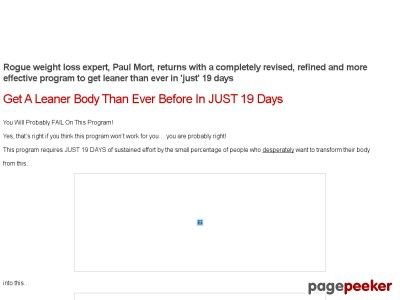 Product Name: 19 Day Get Lean Project – Lots Of Proof   Click here to get 19 Day Get Lean Project – Lots Of Proof at discounted price while it's still available…    All orders are protected by SSL encryption – the highest industry standard for online security from t...