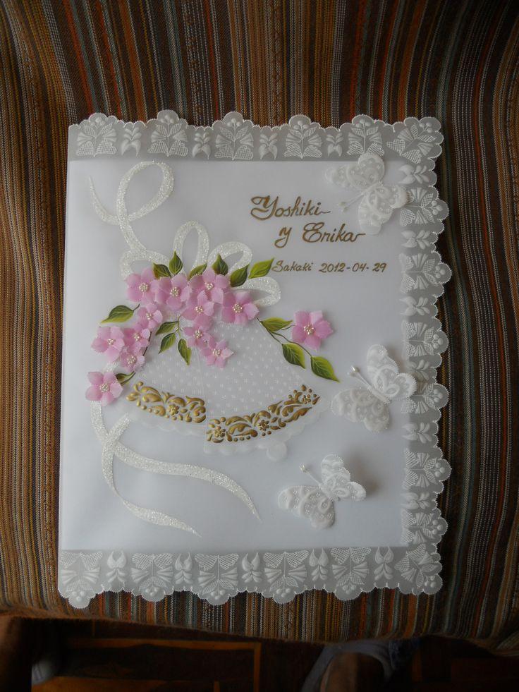 hermoso Libro de firmas para Matrimonio