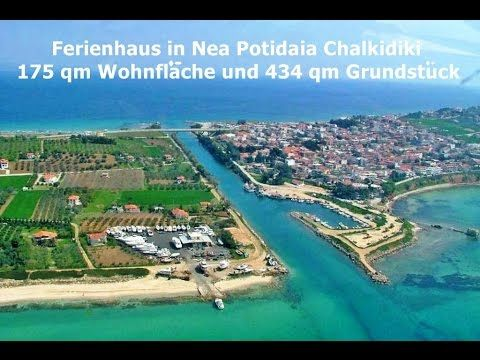 Ferienhaus in Nea Potidaia Chalkidiki 175 qm Wohnfläche und 434 qm Grund...