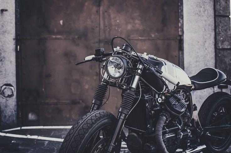 Wrench Kings Honda GL500 Cafe Racer (Sebastien) #motorcycles #caferacer #motos | caferacerpasion.com