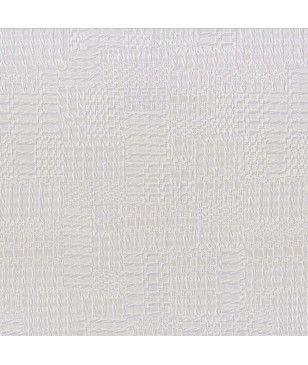 Tapet din vinil textura in relief alb cremos 70 cm latime Garance, Texdecor 91269122