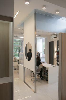 """Салон красоты """"МОНЕ"""", Комсомольский 41. Дизайн - AABA Architects. http://aaba.ru/project_480/"""