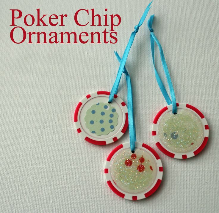 how to make a poker chip
