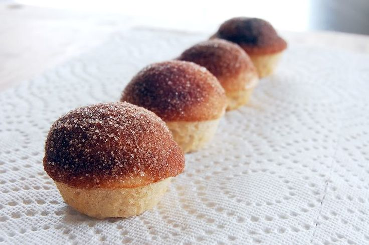 girl who bakes: cinnamon sugar donut muffins! - my sister made them ...
