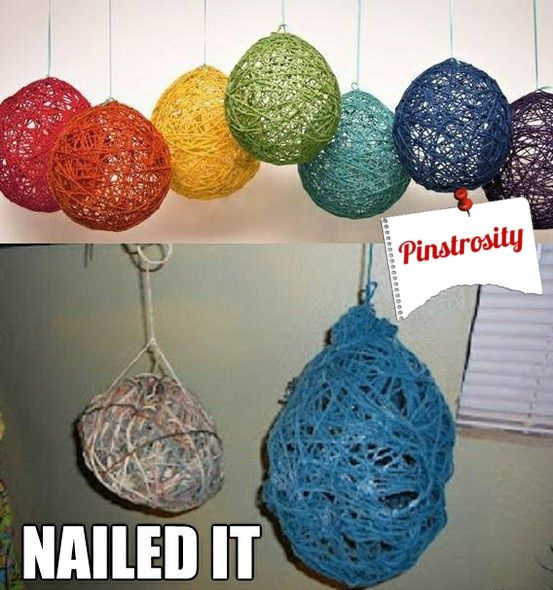 Pinstrosity -- A blog where people submit Pinterest projects that didn't turn out as planned.