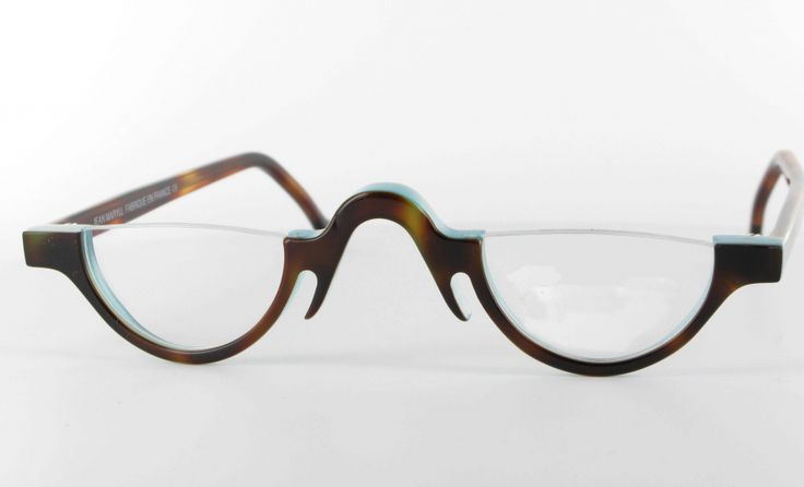 Quot Jazz Quot Snazzy Half Moon Spectacles From Retropeepers In