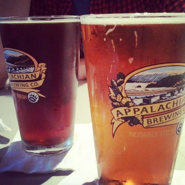 Appalachian Brewing Company Scottish Ale and Pale Ale