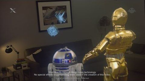 """Mixed Reality: Magic Leaps Geister auf der Netzhaut - Ein Headset werde es """"in Kürze"""" als Prototyp geben, unter den ersten Inhalten wird das Star-Wars-Universum dank einer Kooperation mit Lucasfilms xLabs zu finden sein.  Laut ersten Berichten sei die Darstellung virtueller Objekte vor dem Auge des Betrachters in seiner Qualität beispiellos, weil das Headset sogenannte """"photonic lighfield chips"""" als Linsen nutzt. Die Technologie hinter den, auf den ersten Blick wie herkömmliche Brillengläser…"""