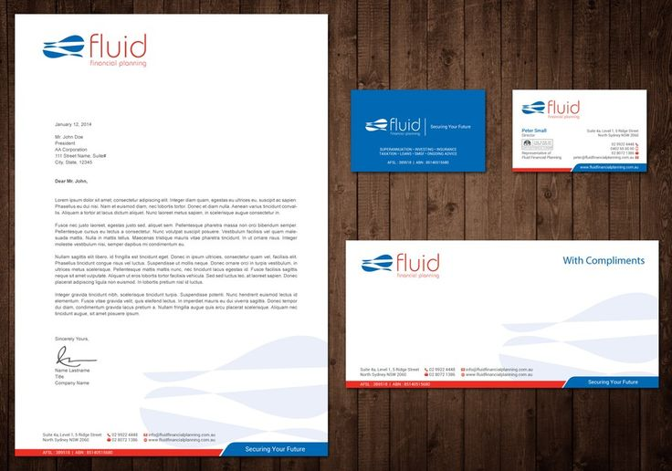Design modern, sylish, sleek buiness card and letterhead for finanical services…