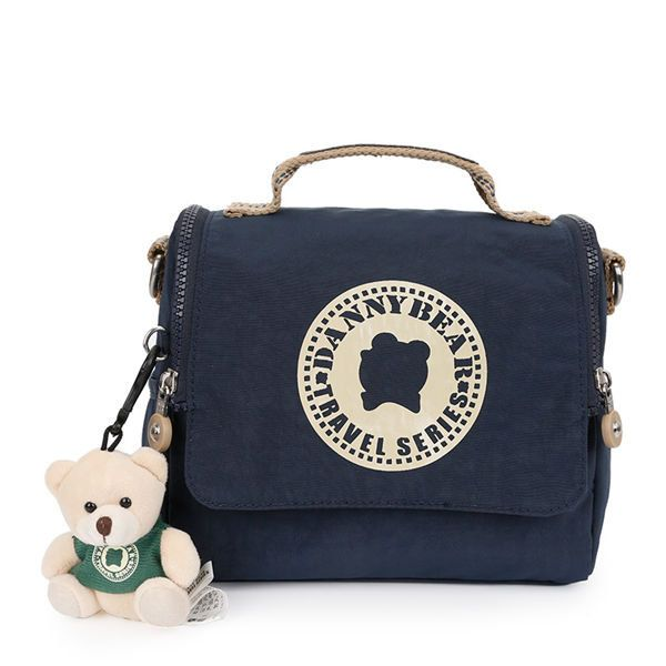 DANNY BEAR Vintage Washer Fabrics Waterproof Messenger BagDANNY BEAR Vintage Washer Fabrics Waterproof Messenger Bag