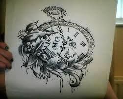 Taschenuhr bleistiftzeichnung  9 besten Tattoo Bilder auf Pinterest | Beobachten, Baby-Tattoos ...