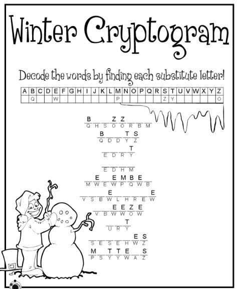 This is a graphic of Sizzling Cryptogram Puzzles Printable