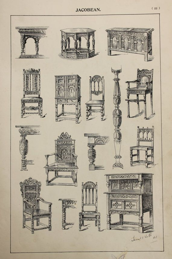 English Jacobean Furniture Designs Large Antique by PaperPopinjay - 22 Best Jacobean Images On Pinterest Antique Buffet, At Home And