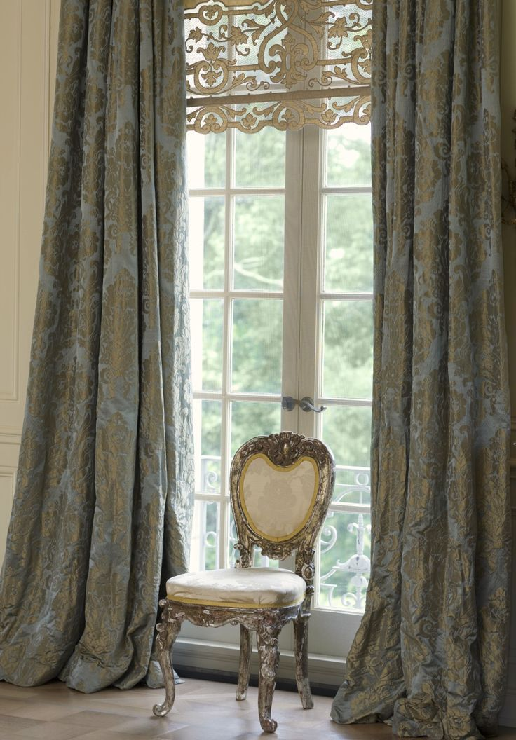 Wonderful window treatments: a touch of luxury