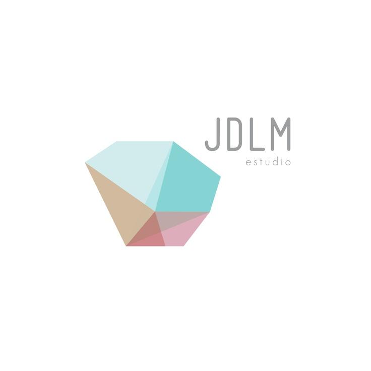 Desarrollo de logotipo para el estudio JDLM. Madrid.