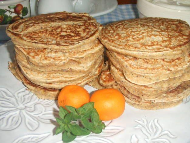 Tortitas de quinoa con semillas de amapola