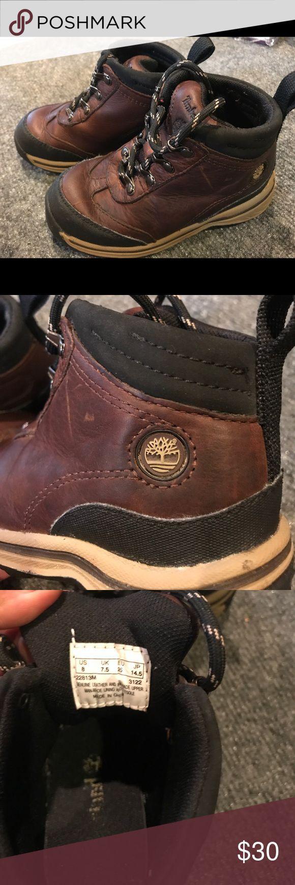 PRICE DROP!! Timberland boots Adorable leather timberland boots   Great condition Timberland Shoes Boots