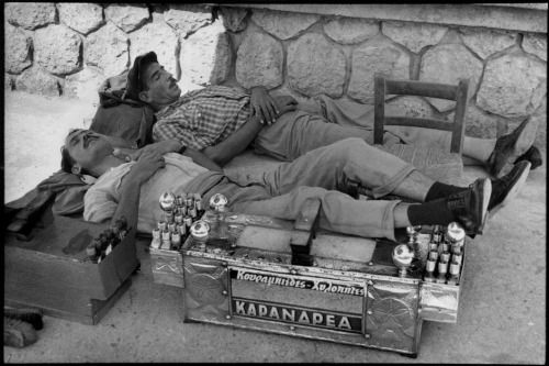 Peloponnese. Near Tripoli, Greece 1961 by Henri Cartier-Bresson