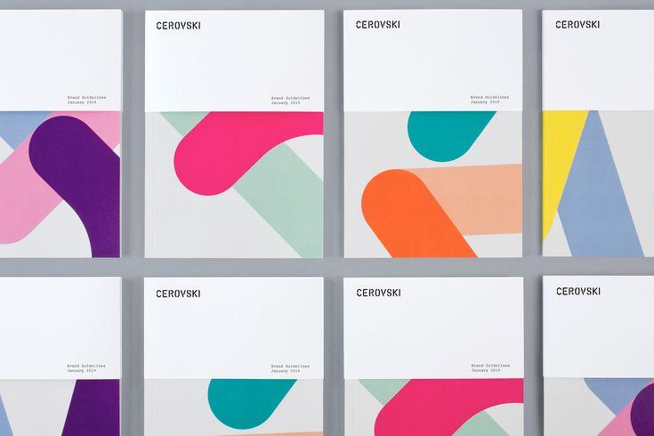 Multi-coloured Branding – Cerovski by Bunch, United Kingdom