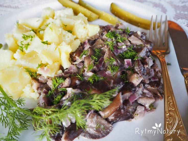 Królewskie opieńki duszone szczyptą lasu doprawione #rytmynatury #grzyby #grzybobranie#kuchnia#kulinaria#danie#obiad#pycha