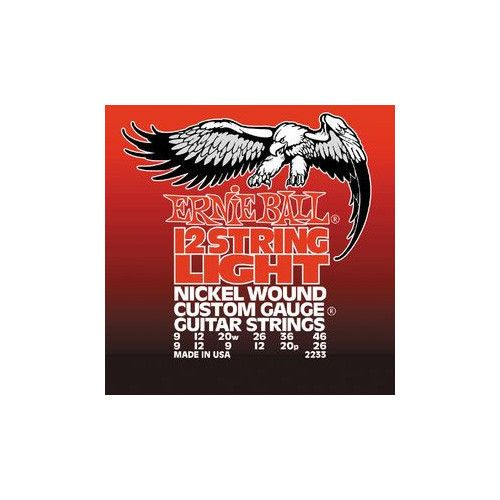 Ernie Ball 12 String Light Electric Guitar Strings 9-46