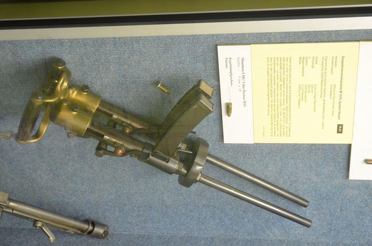 the grandaddy of the submachine gun, the Italian Villar Perosa: