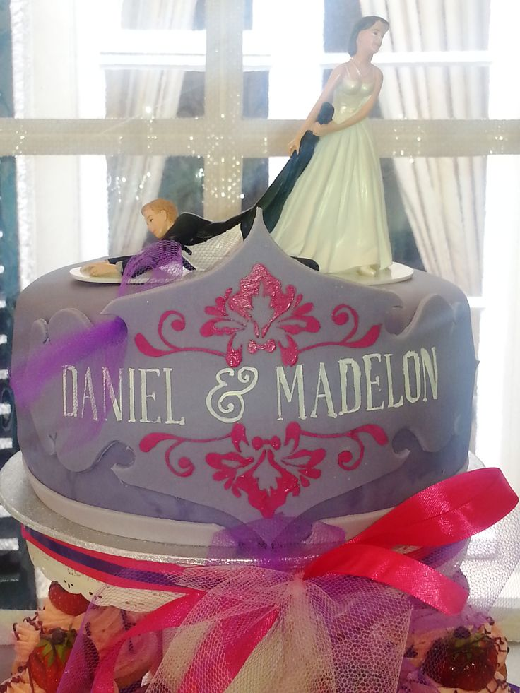 Weddingcake topper