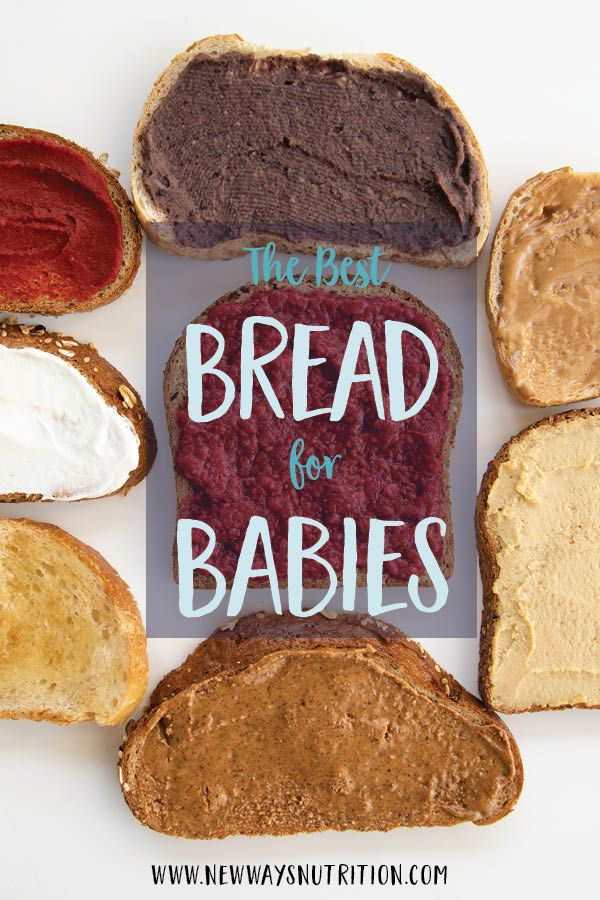 The Best Bread For Babies Baby Led Weaning Recipes Baby Food Recipes Weaning Foods