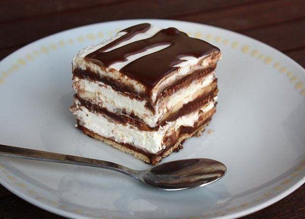 Čokoládovo-smotanové lasagne