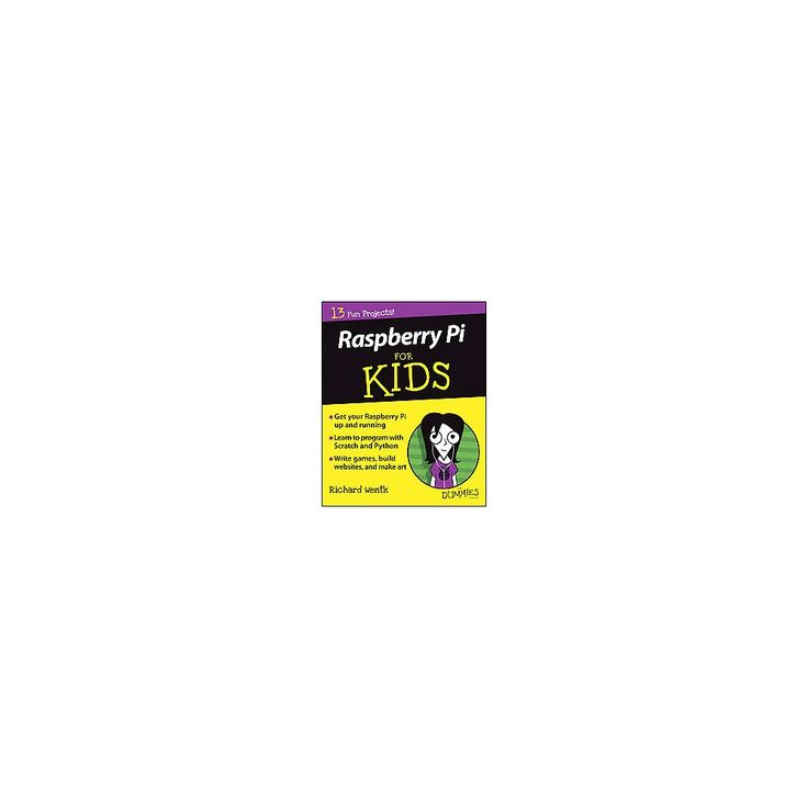 Raspberry Pi for Kids for Dummies ( --For Dummies) (Paperback)