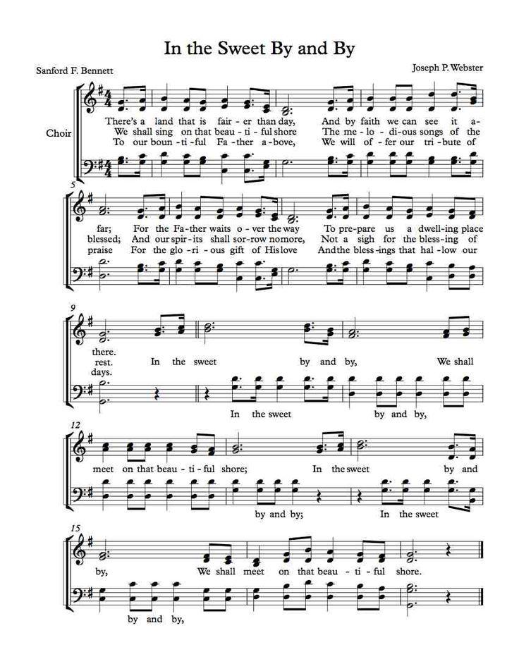 Southern Gospel Sheet Music Timiznceptzmusic