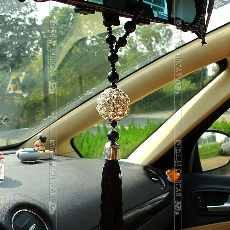 Car pendant crystal car hangings car accessories car rearview mirror