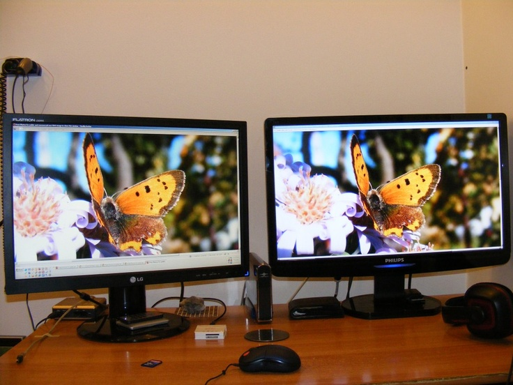 Dual Monitor Desktop - Public Domain Photos, Free Images for Commercial Use