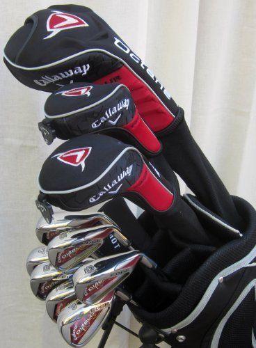 Golf club sets, Golf clubs and Golf on Pinterest Callaway Golf Club Set
